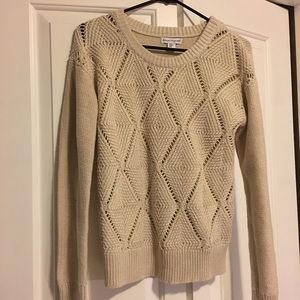 Beige sweater by lovingly made